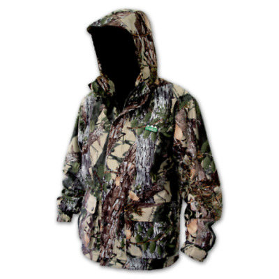 Ridgeline Mallard Waterproof Hunting Jacket Buffalo Camo