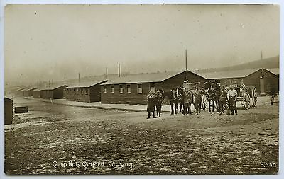WW1 C1917 RP POSTCARD CAMP NO 6 CODFORD ST MARY WILTSHIRE AIF k56
