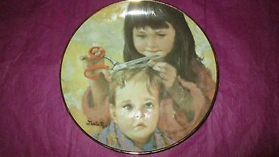 Plate- First Customer- Thornton Utz- Hamilton- 1984- 8 1/2""