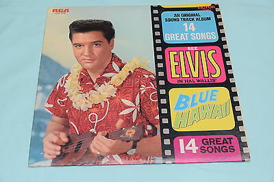 Elvis Presley Blue Hawaii Soundtrack LP RCA LSP 2426 Near Mint Vinyl