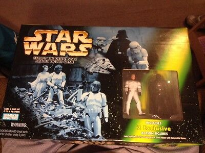 Star Wars Escape The Death Star Action Figure Game Brand New In Box
