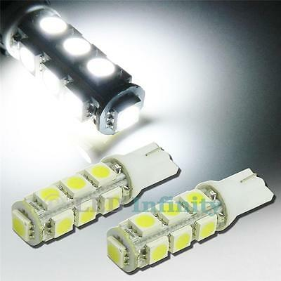 A Pair of HID White 13-SMD T10 921 912 LED Cars Backup Reverse Lights Bulbs #04