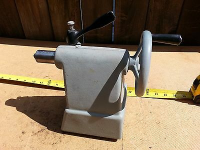 Vintage Delta Rockwell Wood Lathe Tailstock