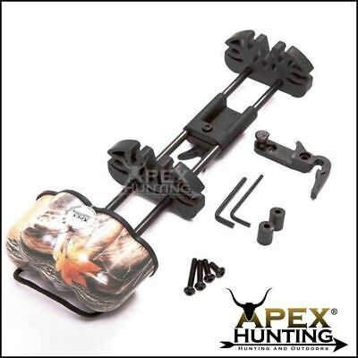 Camo Quiver For Compound Bow Super Heavy Duty Holds 5 Arrows Archery