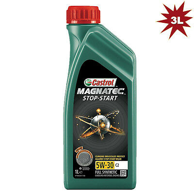Castrol Magnatec Stop-Start 5W-30 C2 Fully Synthetic Engine Oil - 3 Litre
