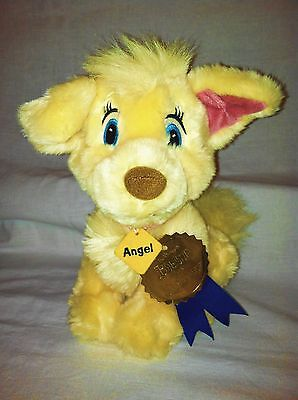 "Lady And The Tramp II Angel Stuffed Dog Plush From Disney Store, 11"" Rare"