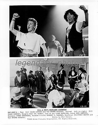 1989 Bill & Ted's Excellent Adventure Movie Press Photo