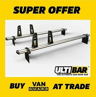 CITROEN BERLINGO ROOF BARS 2008 on 2 x VAN GUARD ULTI BARS VG271-2