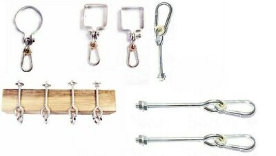 Swing hook 100mm round, 90mm square, straight Climbing Frame Set,M10, M12,Hanger