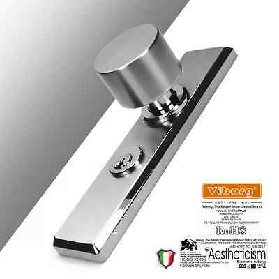 Deluxe SUS304 Stainless Steel Keyed Privacy Door Security Entry Mortise Lock Set