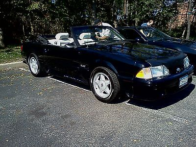 Ford : Mustang GT Convertible 1987 ford mustang gt convertible manual white leather fox