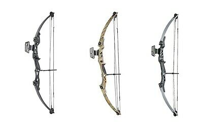 ASD Lynx High Powered Adult Archery Compound Bow Set 55lbs Sight & Arrow Rest