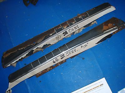 Chevy Pontiac Buick Olds Convertible Oldsmobile 59 60 cadillac chevrolet toprail