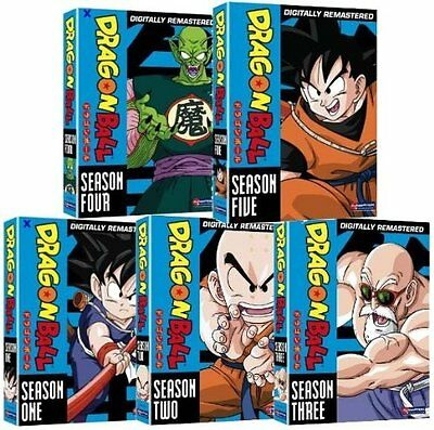 Dragon Ball Seasons 1-5 Mega DVD Collection Uncut NEW