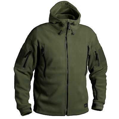 Helikon Tex Patriot Fleece Jacke Jacket Olive Green Outdoor 390g/m2 BL-PAT-HF-02
