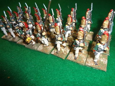 28mm A+ ptd Napoleonic Russian infantry Palov grenadiers *24 (no flags)