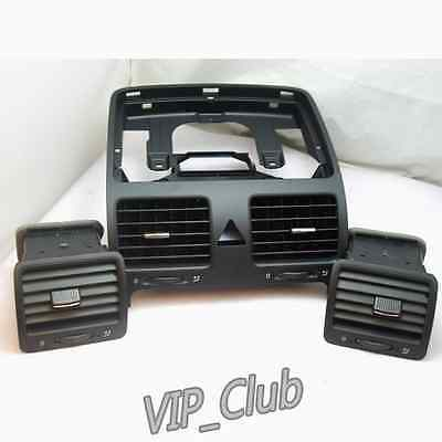 OE Dashboard Central Left Right Air Outlet Vent For VW Jetta Golf Rabbit MK5