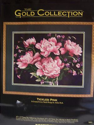Dimensions Gold Collections Counted Cross Stitch Kit Tickled Pink