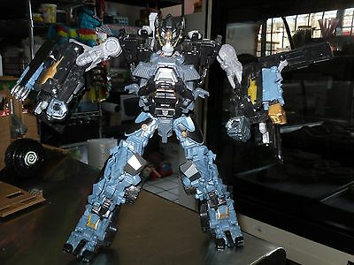 TRANSFORMERS DARK OF THE MOON IRONHIDE LEADER CLASS INCOMPLETE FOR PARTS