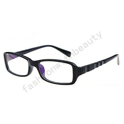 100%UV400 Clear Lens Nerd Decorative Anti-radiation Computer Eye Goggles Glasses