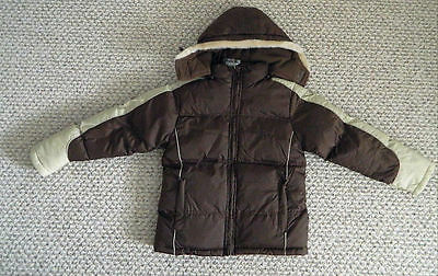 nwt girls winter jacket down ski cold weather water resis $99 puffer size 14/ 16