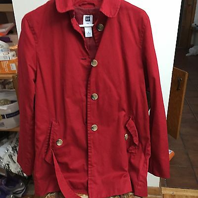 Red Coat The Gap Size M