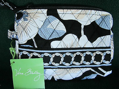 NWT Authentic Vera Bradley retired CAMELLIA Small Cosmetic Bag USA Seller