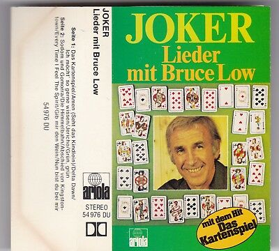 Bruce Low-Joker-Lieder Mit Bruce Low Mc Ariola Audio Kassette Tape Cassette