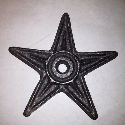 Set of 8pcs-CAST Architectural Star.      6 3/8 Wide-  DEFECTS