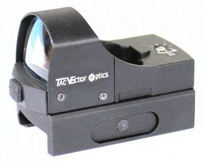 1x22 Green Dot Sight with Picatinny Rail Mount - Vector Optics Sphinx