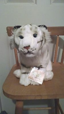 webkinz signature white bengal tiger  *new* attached sealed code