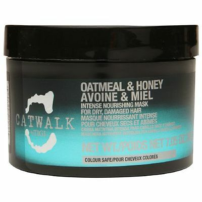 TIGI CATWALK OATMEAL & HONEY INTENSE NOURISHING MASK 7.05 OZ / 200 g