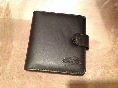 Daily Planner American Tourister Black Leather