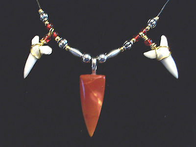 SHARK TOOTH SURFER BEACH WEAR NECKLACE SALE NOW