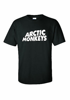 **ARCTIC MONKEYS ** T SHIRT *   awesome band! Unisex ladies 3 colours!! CHEAP