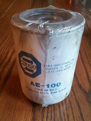 NOS Hydraulic Oil Filter Element Zinga AE-100 Spin On fits Donaldson P550274??