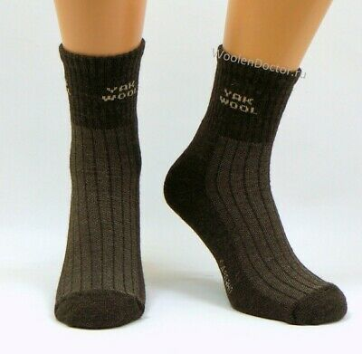Mens Very Warm Thermal Thick 90% Yak Wool Socks | Winter Hiking Hunting