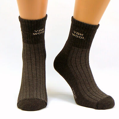 Very Warm 90% Yak Wool Socks - Thick Heavy Thermal | Extreme Cold Weather Winter