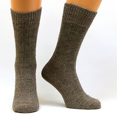 Warm Alpaca Dog Wool Socks - Thick Thermal   Winter Cold Weather Outdoor Hiking