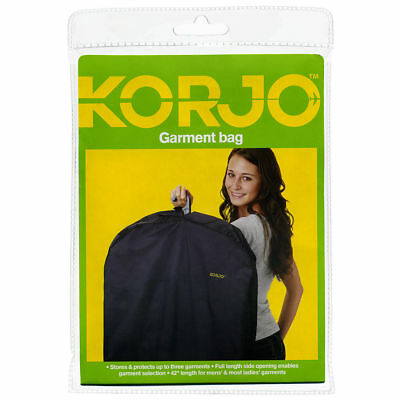 "Korjo New42""Cloths Suit Dress Coat Garment Travel Cover Storage Luggage Bag GB43"