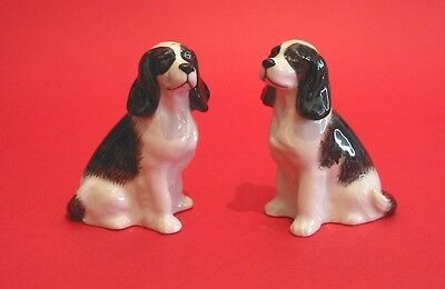 Quail Ceramic Cocker Spaniel Black /& White Egg Cup NEW Home Mother Father Gift