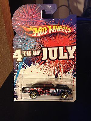 HOT WHEELS 2010 4TH OF JULY SS EXPRESS **MISSING ENGINE** ERROR CAR
