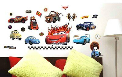 1x cars Doc Hudson Decal Removable WALL STICKER Home Decor Kid 50*70cm F702