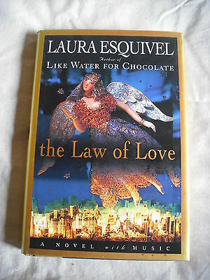 (2006)  ''THE LAW OF LOVE'' A NOVEL BY LAURA ESQUIVEL / LIKE WATER FOR CHOCOLATE