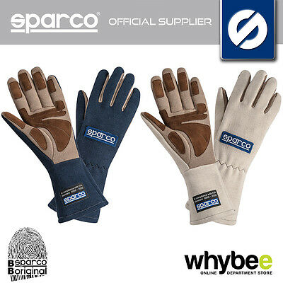 001304 Sparco Land Classic Vintage Fireproof Racing Gloves Historic Motorsport
