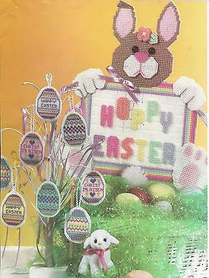 Easter Decorations in plastic canvas PATTERN INSTRUCTIONS