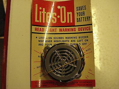 1930s-1940s-1950s ACCESSORY LITES ON HEADLIGHT WARNING SYSTEM