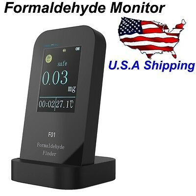USA Shipping Formaldehyde Detector Tester Formaldehyde Monitor Accurate Test