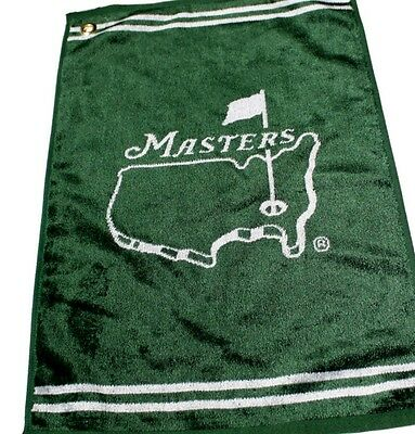 Official GREEN Masters Golf Towel from Augusta National  - SHIPS FAST