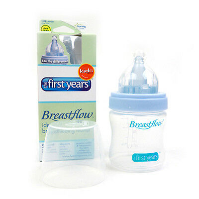 Breastflow Baby Bottle 5oz / 150ml The First Years BPA-Free for New Born